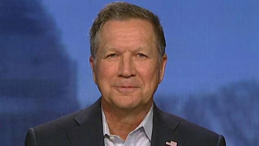 Ohio governor explains his campaign strategy on 'America's Newsroom'