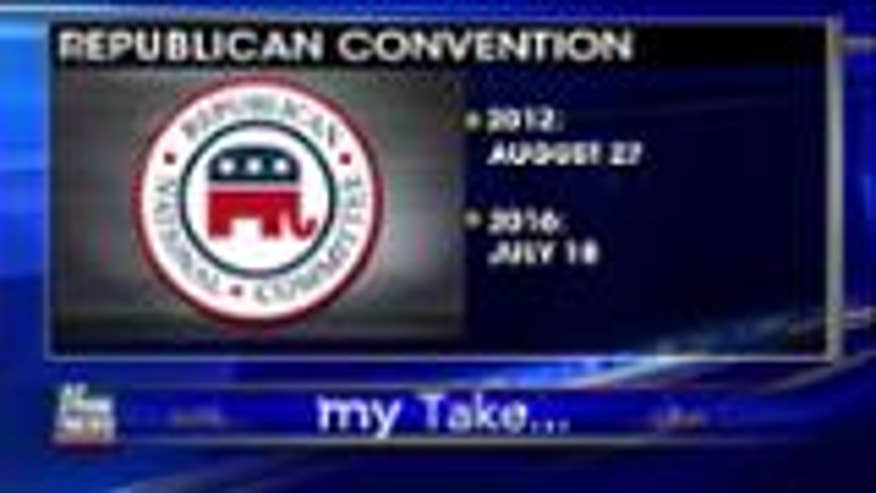 Republican calendar was created to allow a front-runner to wrap things up quickly