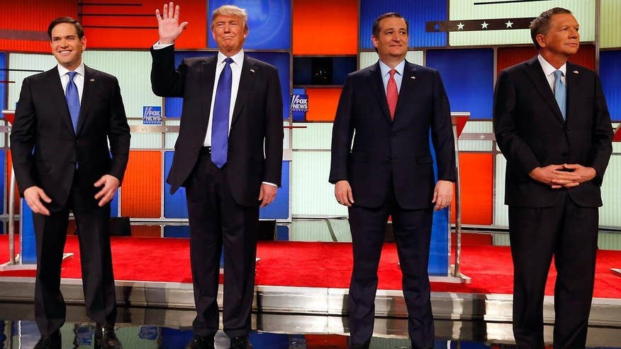 Candidates clash over conservative principles and personal attacks at the #GOPDebate