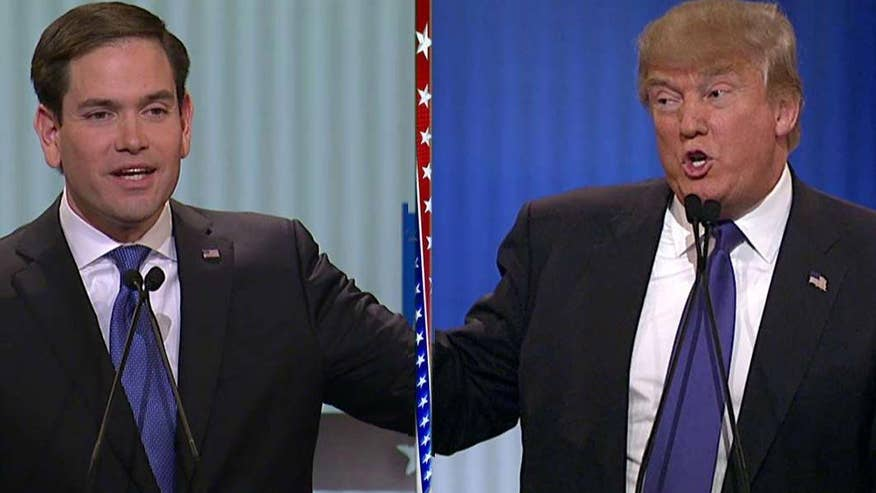 Candidates clash over federal spending, immigration at the #GOPDebate