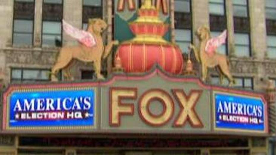 Detroit's historic Fox Theatre hosts Fox News GOP debate