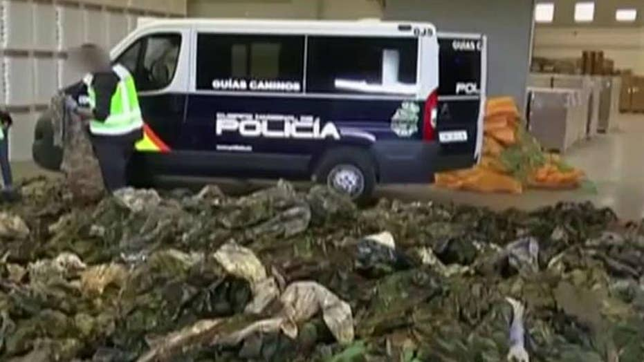 Spanish police seize 20 thousand ISIS uniforms