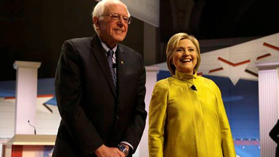 How Clinton, Sanders differ over economics and trade