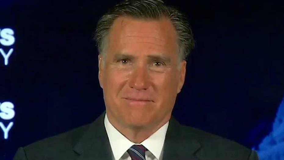 Mitt Romney talks Trump attack, future of the GOP