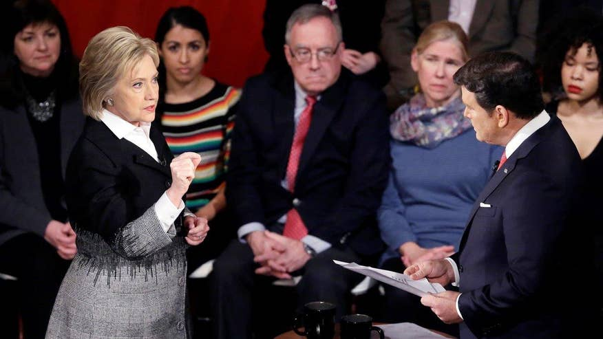 Clinton inaccurately claims the State Department decides what is and is not classified