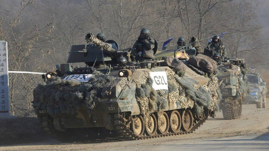 Rising tensions between North and South Korea