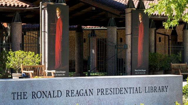 Nancy Reagan to lie in repose at Reagan Library