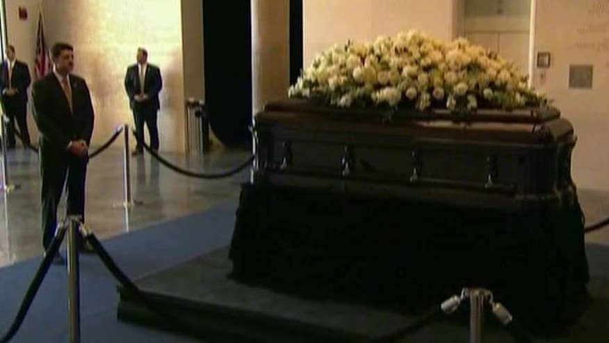 Memorial activities begin for the former first lady; Adam Housley reports on 'Special Report'