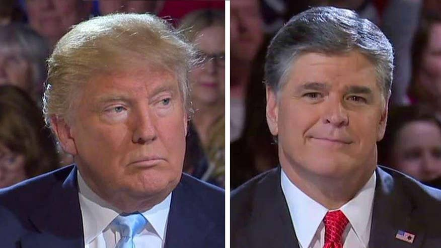 Businessman responds to critics who say he won't be conservative as president at 'Hannity' town hall