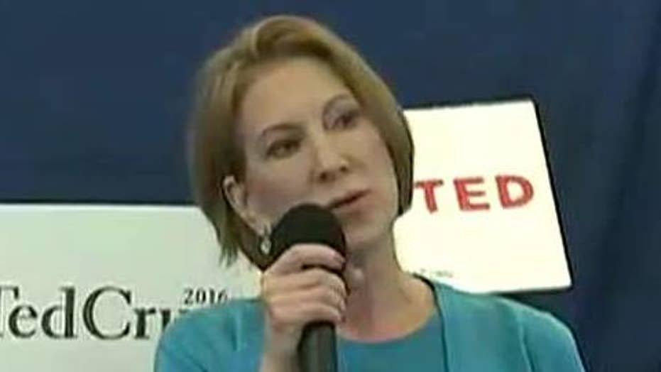 Carly Fiorina: 'It is time to unite behind Ted Cruz'