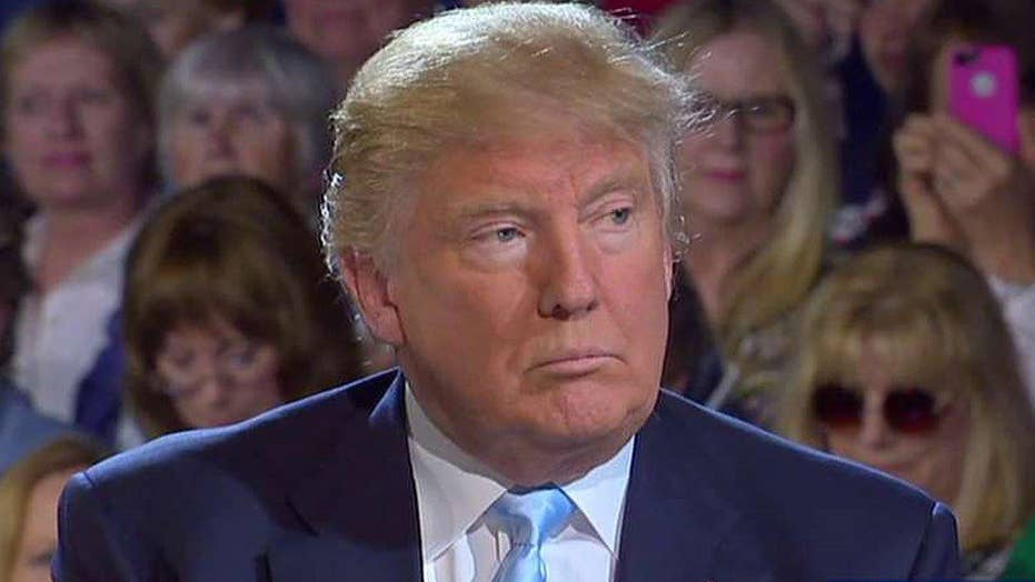 Donald Trump talks bringing jobs back to America