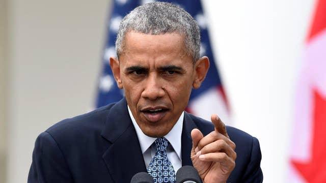 President Obama takes swipe at 'Republican crack-up'