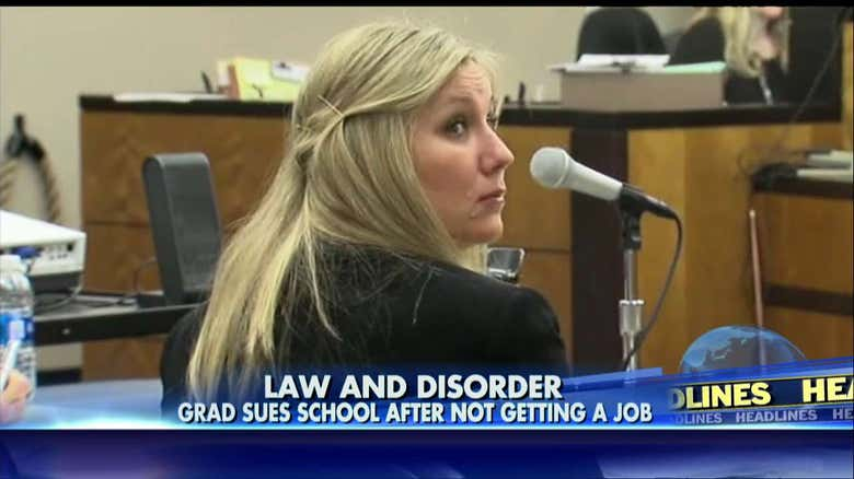 unemployed law grad sues former school because she can  t get a job  outrageous unemployed law grad sues former school because she can39t get a job