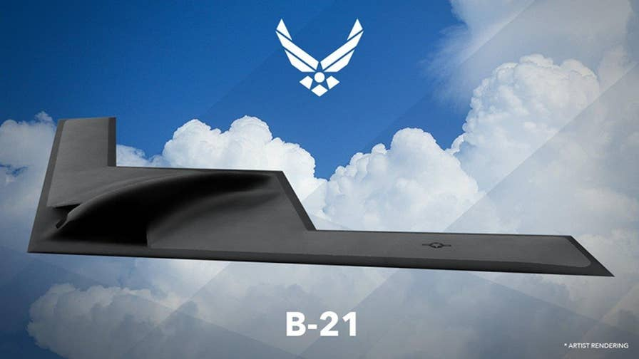 Tech Take: Allison Barrie on the new stealth bomber joining the U.S. Air Force, the B-21