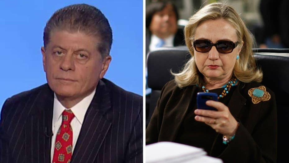 Judge Napolitano: Clinton email scandal is not going away