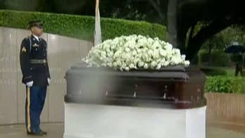 Family and friends gathered to remember the former first lady's life; Adam Housley reports on 'Special Report'