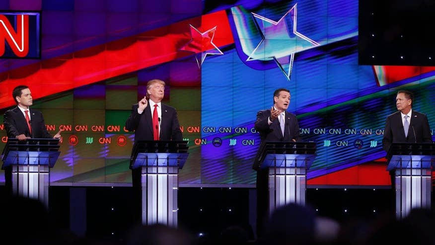 Candidates talk policy in CNN debate