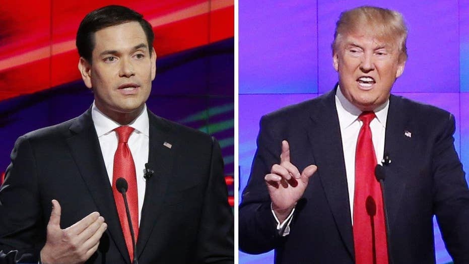 Rubio campaign sees gap closing between Trump in Florida