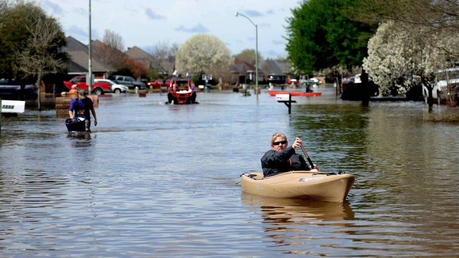 State of emergency declared as severe storms swamp Louisiana