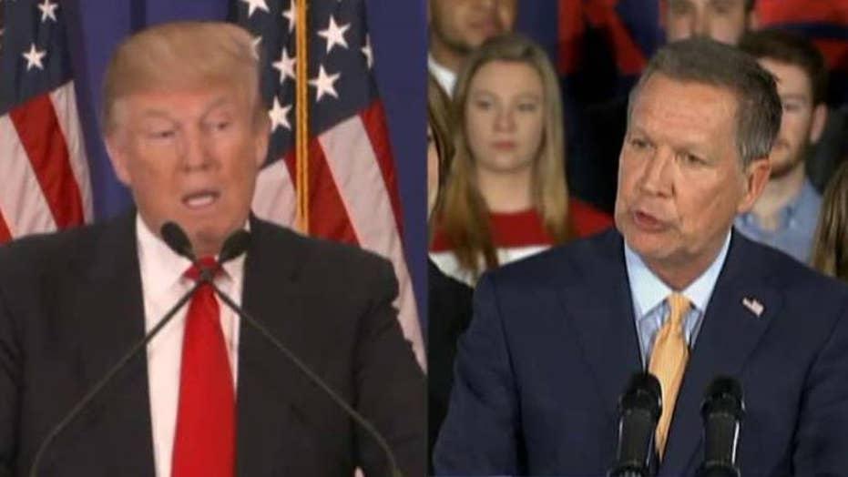 Trump puts pressure on Kasich in Ohio