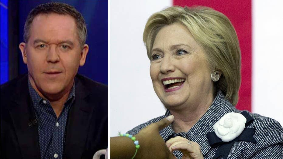 Gutfeld: Clinton reveals how progressives really think