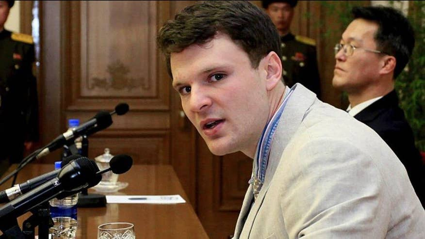 Otto Warmbier is charged with subversion