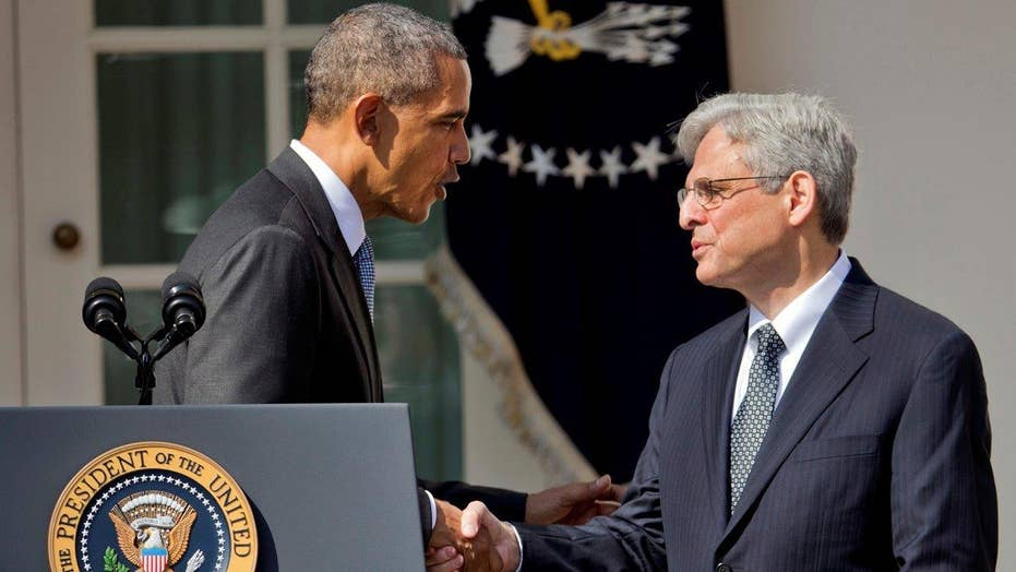 Fight over SCOTUS begins with Garland nomination