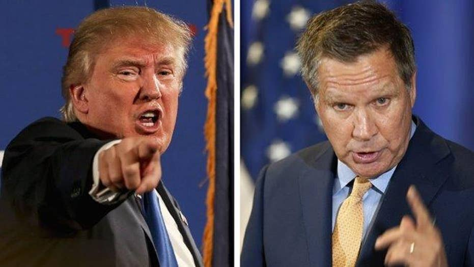 FNC cancels presidential debate after Trump, Kasich withdraw