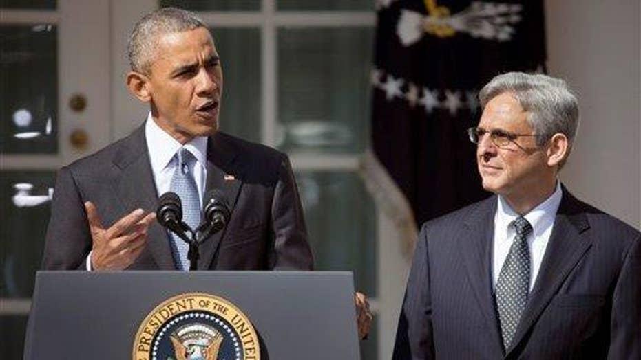Greta: Senate should hold hearings on Obama's SCOTUS pick