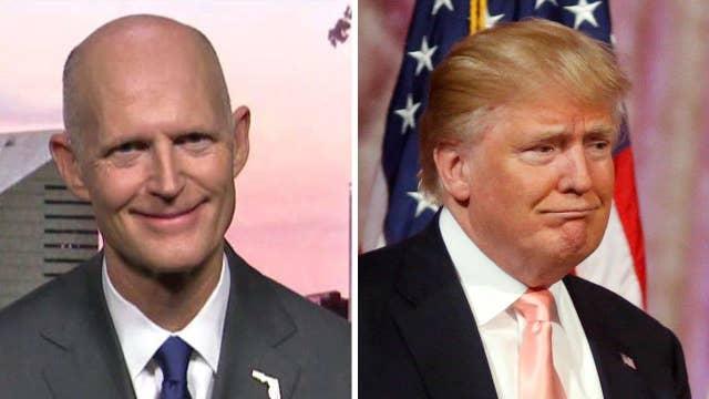 Gov. Rick Scott on Trump: Voters want a businessman outsider
