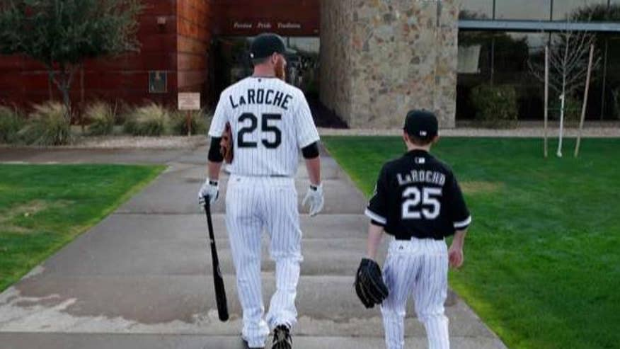 White Sox veteran Adam LaRoche retired after team refused to allow his son access to the clubhouse