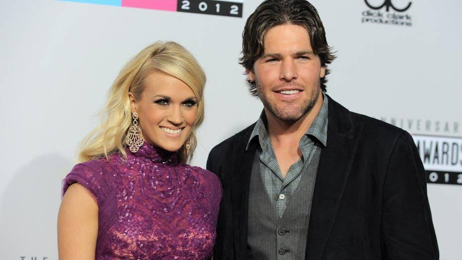 Carrie Underwood puts her foot down