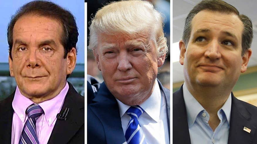 Krauthammer: 'The anti-establishment has won in the form of Cruz and Trump'