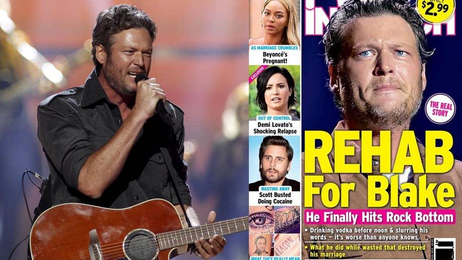 Blake Shelton sues tabloid for $2M