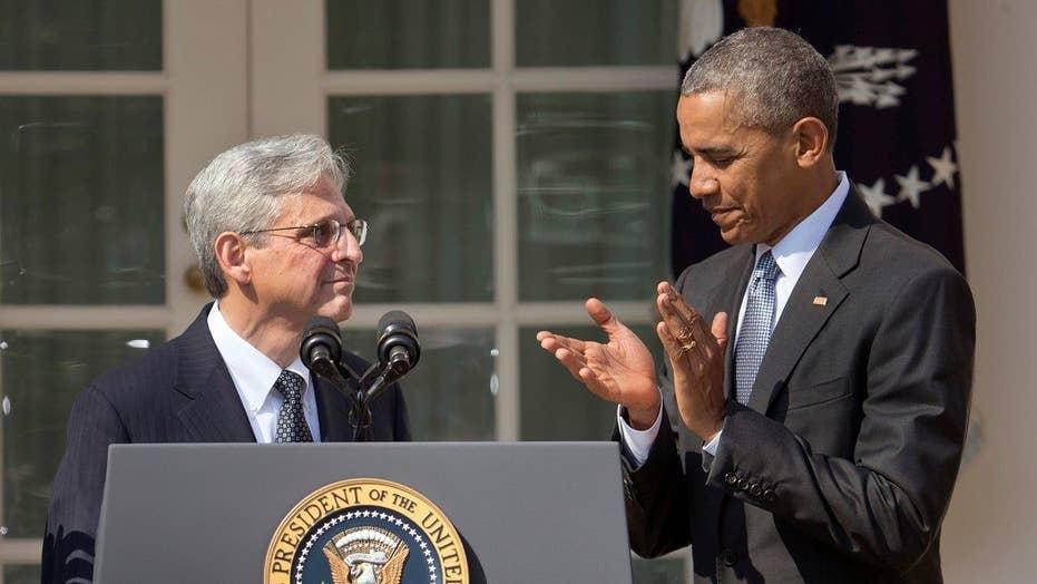 Obama likens Garland SCOTUS fight to civilian in a war zone