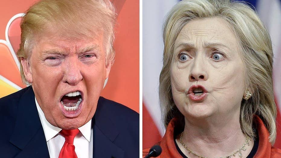 What would a Trump vs. Clinton contest look like?