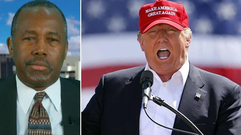 Carson on endorsing Trump: I wanted to stop open convention