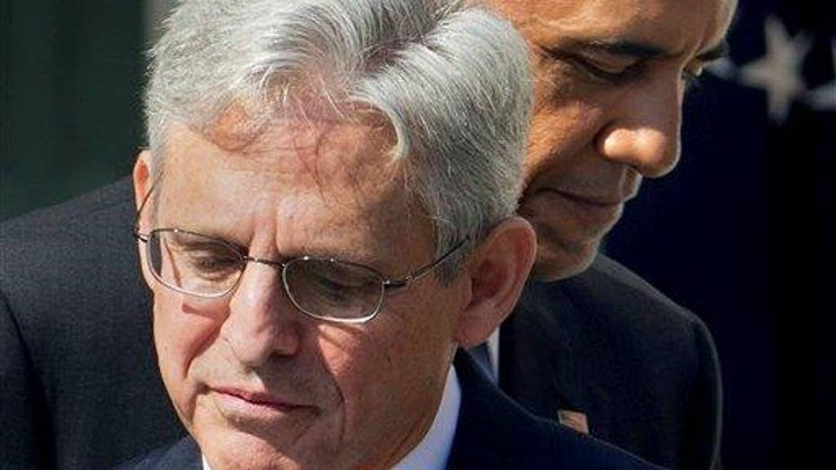 Republican senator: We should vote on Merrick Garland