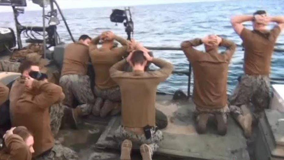 Report: Iran to build statue of captured American sailors