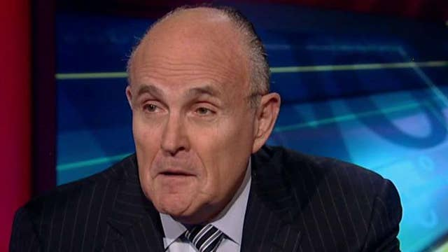 Giuliani: It's 'outrageous' Obama isn't in Situation Room