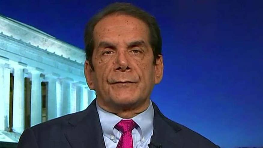 Charles Krauthammer said at a news conference in Cuba, President Obama devoted almost no time to addressing the terror attacks that transpired in Belgium