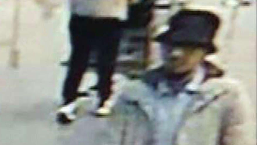 Massive manhunt under way for man seen in airport surveillance video