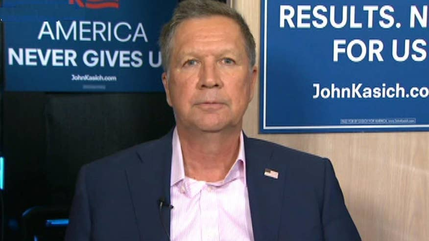 GOP presidential candidate Gov. John Kasich goes 'On the Record' on the Brussels terror attacks and how he would handle a threat like ISIS