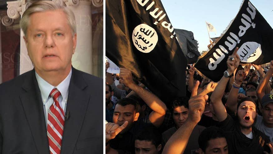 Former GOP presidential candidate Sen. Lindsey Graham goes 'On the Record' on the deadly ISIS terror attacks that rocked Brussels