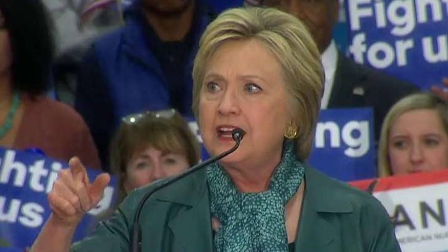 Fresh off Arizona primary win, Hillary Clinton addresses deadly attacks in Brussels