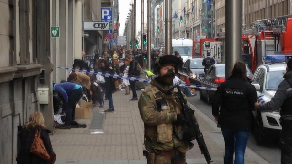 Brussels on lockdown, citizens told 'stay where you are'