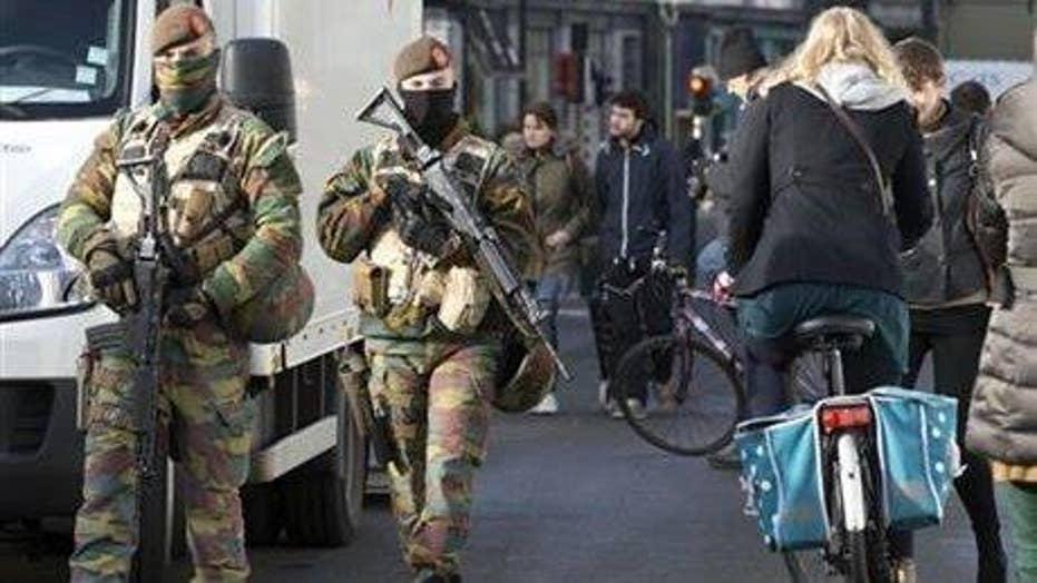 New terror raids under way around Brussels following attacks