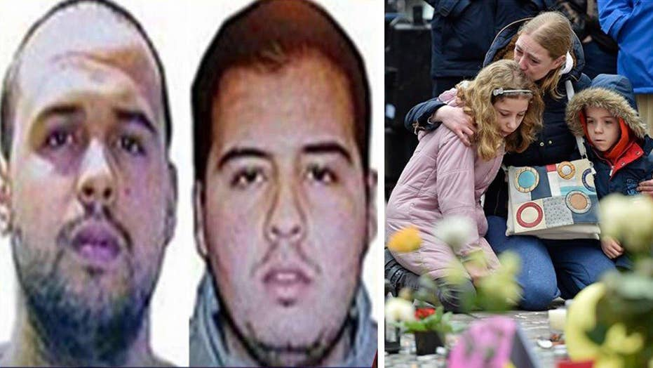 Brothers identified in Belgium terror attacks