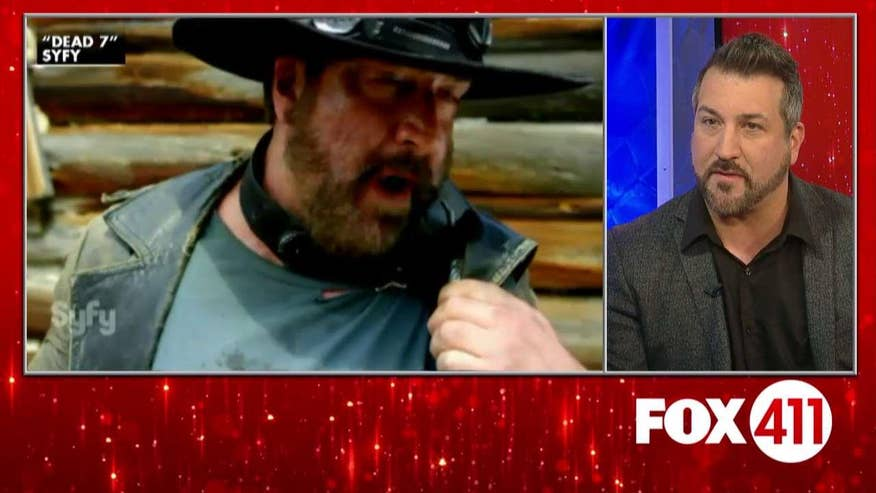 FOX411: Joey Fatone talks reuniting with the cast of 'My Big Fat Greek Wedding 2' and fellow 90s boy bands for 'Dead 7'