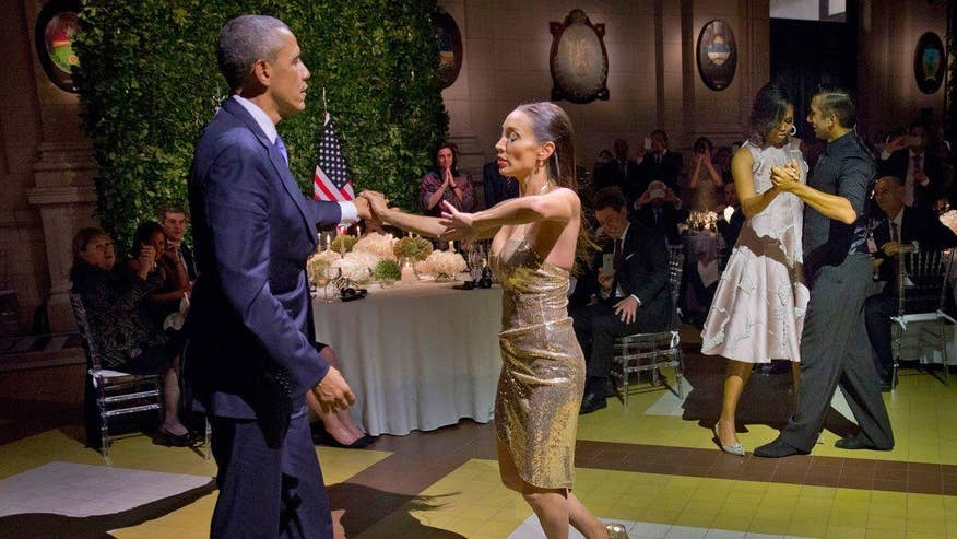 Will on President Obamas Tango